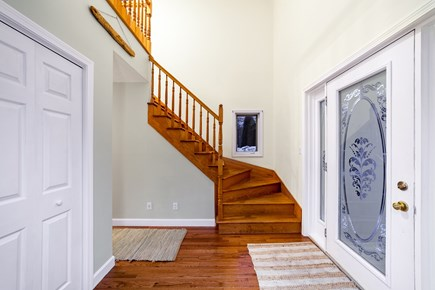 Oak Bluffs Martha's Vineyard vacation rental - Foyer and stairwell with hardwood floors