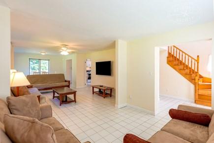 Oak Bluffs Martha's Vineyard vacation rental - Open floor plan with living room, 58-inch Samsung SmartTV, and de