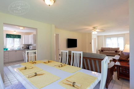 Oak Bluffs Martha's Vineyard vacation rental - Dining room that opens up to the kitchen and living room