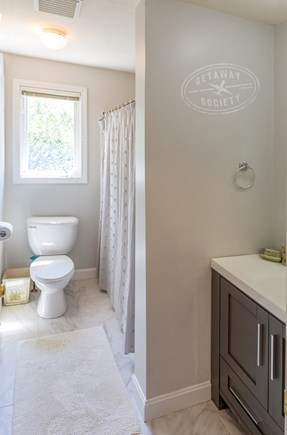 Oak Bluffs Martha's Vineyard vacation rental - Remodeled upstairs hallway full bathroom with new vanity and comb