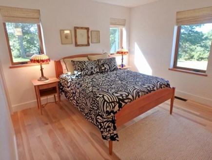Chilmark Martha's Vineyard vacation rental - First floor Queen with water views