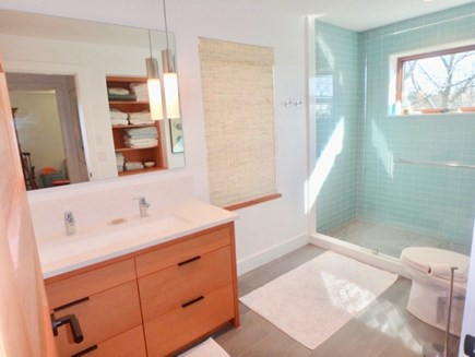 Chilmark Martha's Vineyard vacation rental - First floor full bath with beautiful shower