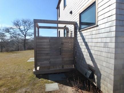 Chilmark Martha's Vineyard vacation rental - Brand new outdoor shower
