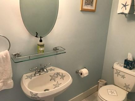 Edgartown Martha's Vineyard vacation rental - Full bath with shower.