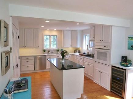 Edgartown Martha's Vineyard vacation rental - Well equipped kitchen w/ Sub-Zero, wine cooler and granite island