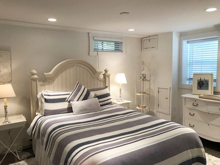 Edgartown Martha's Vineyard vacation rental - Spacious, yet cozy lower level bedroom with queen bed