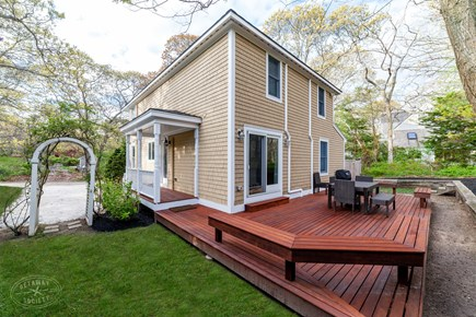 Oak Bluffs Martha's Vineyard vacation rental - The perfect setting for a Vineyard BBQ with family and friends