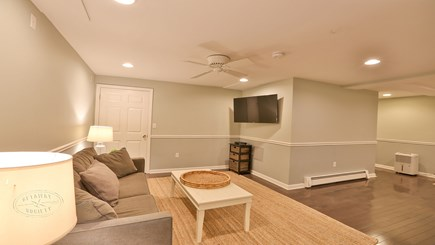 Oak Bluffs Martha's Vineyard vacation rental - Full finished basement with 49-inch SmartTV