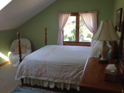 Oak Bluffs Martha's Vineyard vacation rental - Upstairs Bedroom with Double Bed