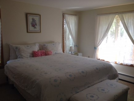 Oak Bluffs Martha's Vineyard vacation rental - First Floor Master Bedroom with King Bed