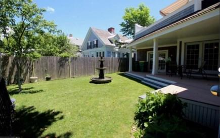 Edgartown Martha's Vineyard vacation rental - Beautiful back yard