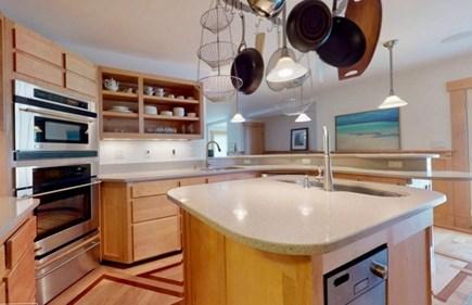 Edgartown Martha's Vineyard vacation rental - Gourmet Kitchen open to living room