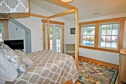 Edgartown Martha's Vineyard vacation rental - Second of two Queen beds, has walkout to second story deck