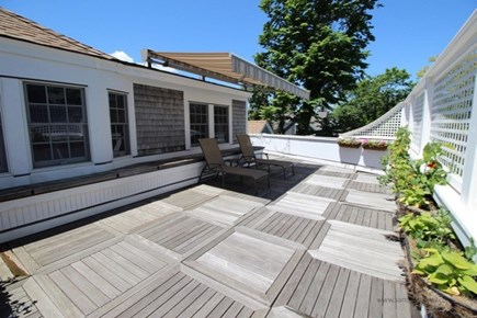 Edgartown Martha's Vineyard vacation rental - Gorgeous second story deck for sunbathing