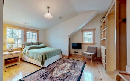 Edgartown Martha's Vineyard vacation rental - Unique spaces and light in Queen Bedroom, upstairs