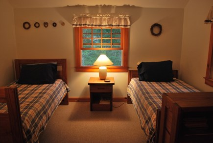 West Tisbury Martha's Vineyard vacation rental - Second Bedroom with twins