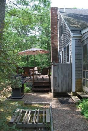West Tisbury Martha's Vineyard vacation rental - Deck