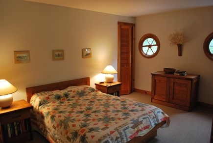 West Tisbury Martha's Vineyard vacation rental - Master Bedroom with double bed