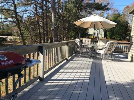Oak Bluffs Martha's Vineyard vacation rental - Spacious wrap around deck.