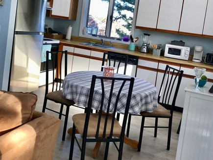 Oak Bluffs Martha's Vineyard vacation rental - Comfortable eat-in kitchen area.