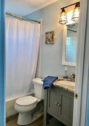 Oak Bluffs Martha's Vineyard vacation rental - Renovated full bath with granite counter top.