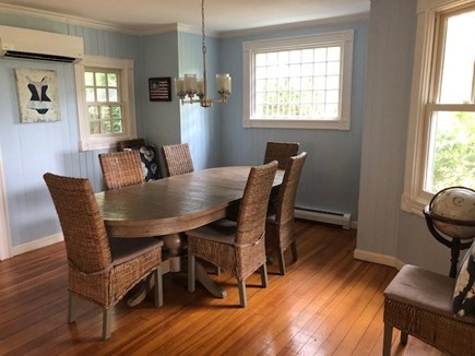 Oak Bluffs, East Chop Martha's Vineyard vacation rental - Dining room with seating up to 8 (table extends).