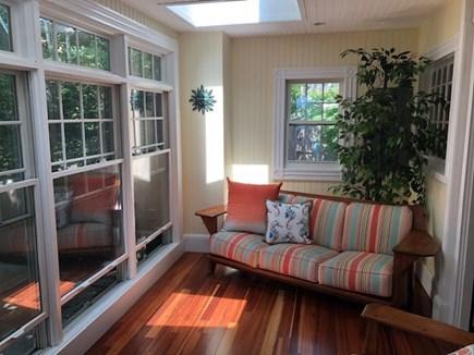 Oak Bluffs, East Chop Martha's Vineyard vacation rental - 1st floor sunroom