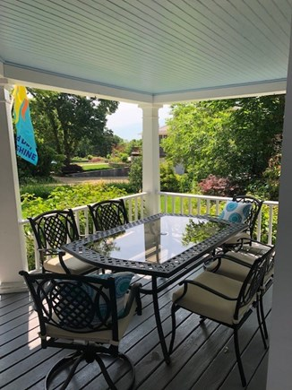 Oak Bluffs, East Chop Martha's Vineyard vacation rental - Front porch seating