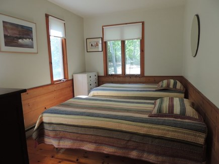 West Tisbury Martha's Vineyard vacation rental - First floor bedroom (both first floor bedrooms are similar)
