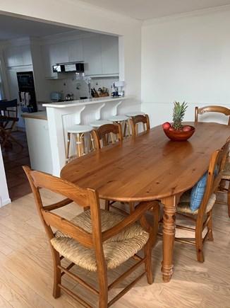 Vineyard Haven, Tisbury Martha's Vineyard vacation rental - Dining room and open kitchen