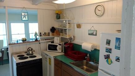 Edgartown, Sengekontacket Pond Waterfront Martha's Vineyard vacation rental - Small Kitchen