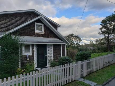 Edgartown, Sengekontacket Pond Waterfront Martha's Vineyard vacation rental - Front of  cottage