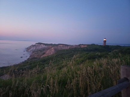 Edgartown, Sengekontacket Pond Waterfront Martha's Vineyard vacation rental - Sunset at Aquinnah Cliffs - 21 mile drive from Cottage