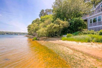 Vineyard Haven Martha's Vineyard vacation rental - Your own 267 ft of private beach surrounded by conservation land.