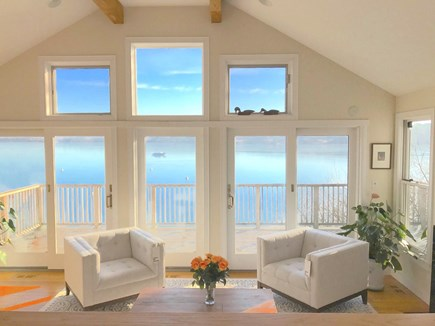 Vineyard Haven Martha's Vineyard vacation rental - Fabulous View of Lagoon!