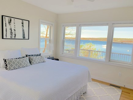 Vineyard Haven Martha's Vineyard vacation rental - Master Bedroom with amazing views