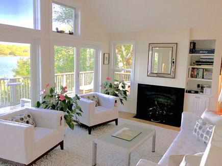 Vineyard Haven Martha's Vineyard vacation rental - Living area, views, views, views!All new furnishings!