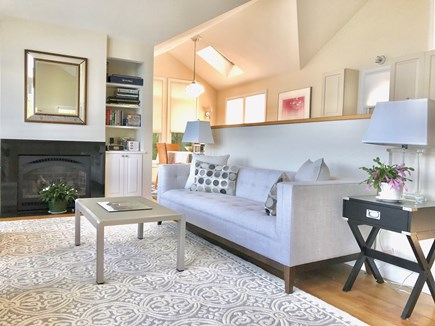Vineyard Haven Martha's Vineyard vacation rental - Super-comfy sofa!