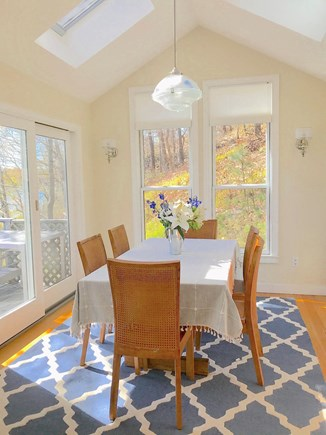 Vineyard Haven Martha's Vineyard vacation rental - Dining Area with fabulous views.