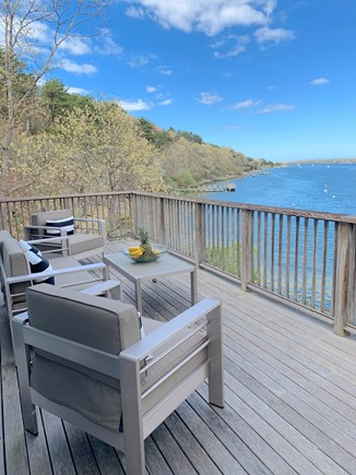 Vineyard Haven Martha's Vineyard vacation rental - Picture yourself relaxing on the deck!