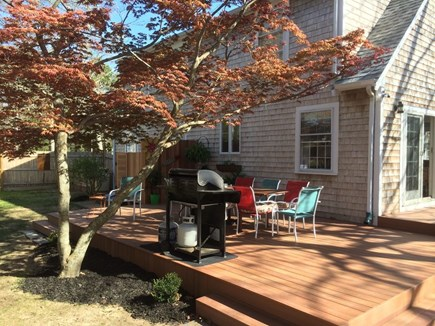 Oak Bluffs Martha's Vineyard vacation rental - Oversized deck for grilling, dining and chilling!
