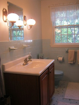 Oak Bluffs Martha's Vineyard vacation rental - 2nd floor blue bathroom