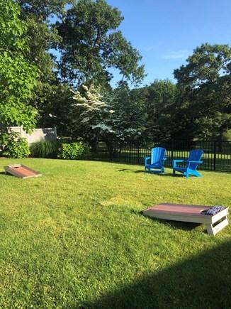 Edgartown Martha's Vineyard vacation rental - Private Yard in Pool Area