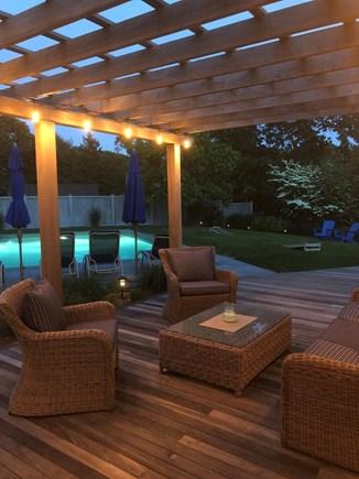 Edgartown Martha's Vineyard vacation rental - Relaxed Outdoor Evenings