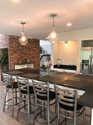 Edgartown Martha's Vineyard vacation rental - Kitchen Island with Granite Counter Top