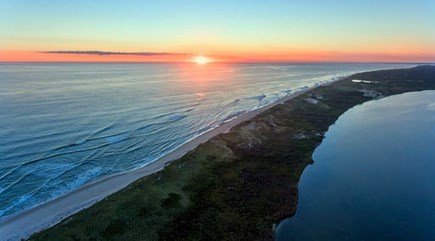 Chilmark Martha's Vineyard vacation rental - Peninsula sunset resplendent with natural beauty