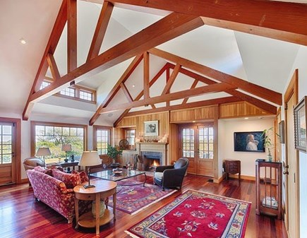 Chilmark Martha's Vineyard vacation rental - Highest quality construction and beautiful beaming throughout