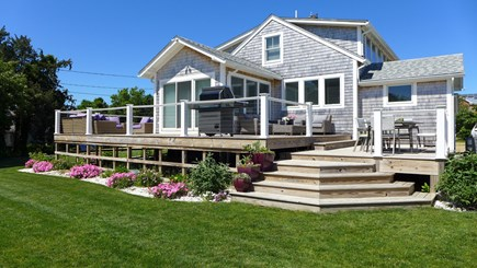 Oak Bluffs Martha's Vineyard vacation rental - Welcome tio the Vineyard!!! Rear view of the cottage.