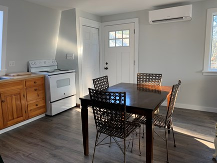 Edgartown Martha's Vineyard vacation rental - Kitchen showing new mini split for heat and AC