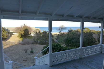 Oak Bluffs Martha's Vineyard vacation rental - View from the porch